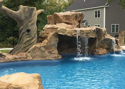 Inground fiberglass pool builders